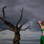 Triathlete Aileen Reid photographed for a series of portraits on Irish Olympians<span class=