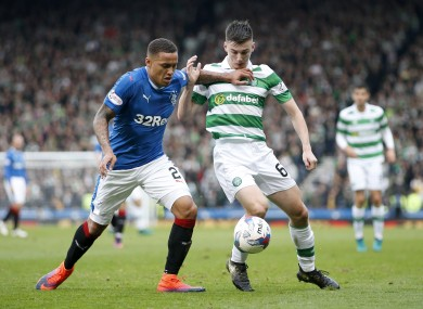 Celtic teenager Kieran Tierney.