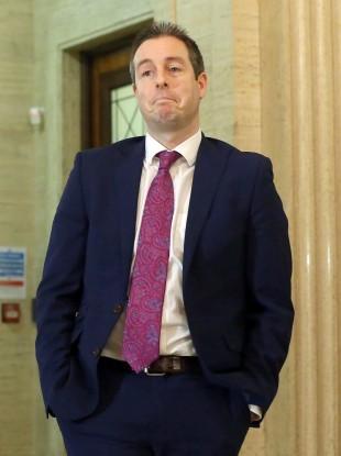 DUP minister Paul Givan.