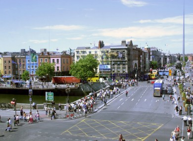 File photo: O'Connell Bridge in Dublin