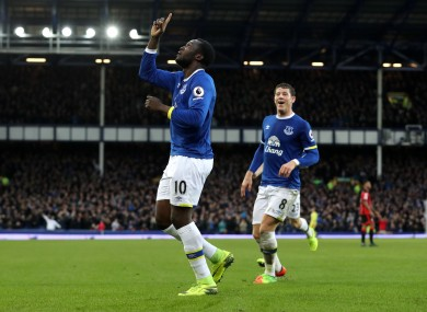 What s better than a hat-trick  Lukaku hits four in Everton s nine-goal  battle with Bournemouth 07d02edd707