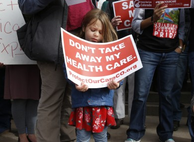 A recent protest from supporters of the Affordable Care Act
