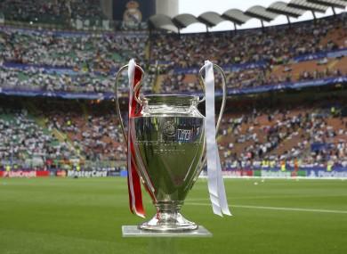 The Champions League trophy.