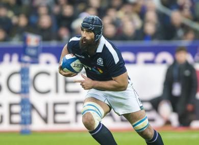 Strauss sustained the injury in Paris last weekend.