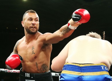Rugby star Quade Cooper wins third pro boxing fight with ...