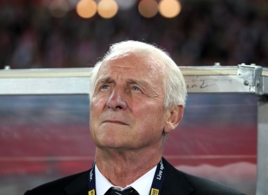 Trapattoni has not managed anyone since stepping down as Ireland boss in 2013.