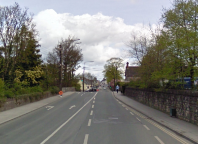 Charleville Road in Tullamore, close to where the collision occurred.