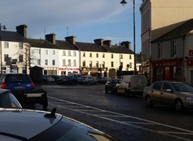 Ballaghaderreen town square
