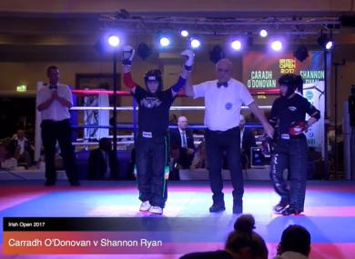 Irish kickboxer Caradh O'Donovan banishes defeat at European