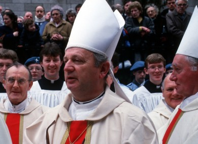 Bishop Eamonn Casey has passed away.