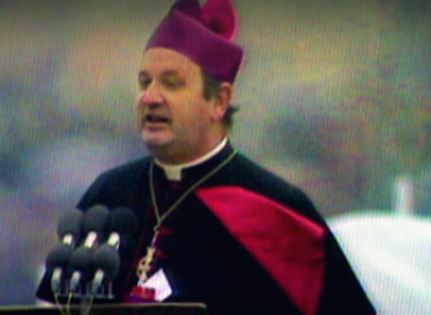 Bishop Eamon Casey who died today aged 89.