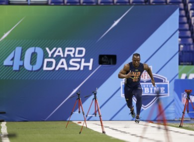 6fc09311067f Beware the fastest 40-yard dash time if you're looking for NFL success