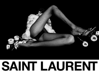8901d7c54bc Fury in France over 'degrading' Saint Laurent ad campaign