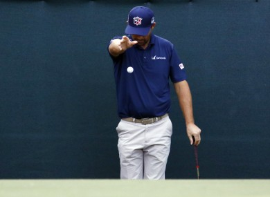 Under the proposed changes, golfers won't have to spend 10 minutes doing this.