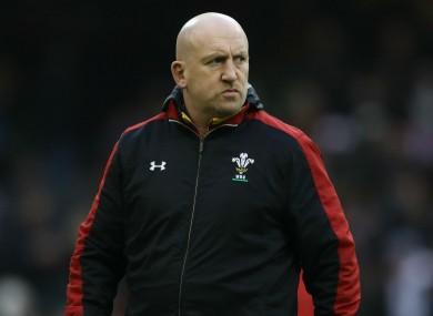 Wales defence coach Shaun Edwards.