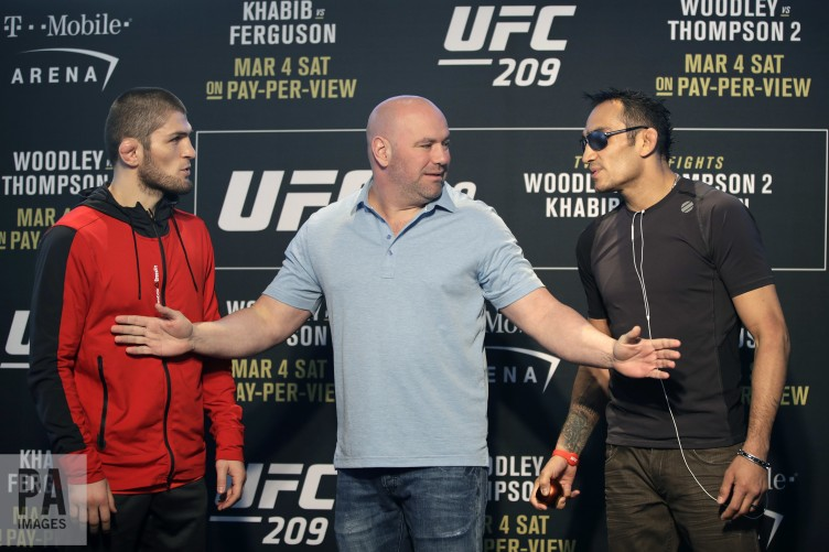 Huge blow for UFC 209 as Khabib is hospitalised and Ferguson bout is