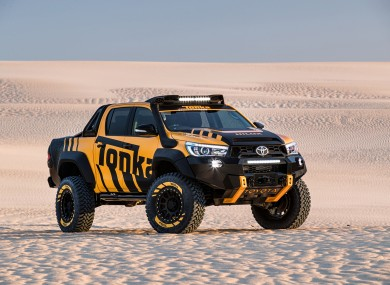 Toyota has made an actual full-size Tonka Truck · TheJournal ie