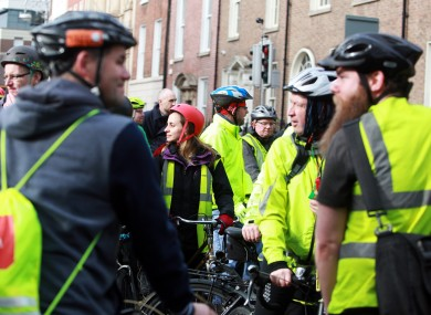 ab37776e8 Gardaí want law to force cyclists to wear high-vis vests and helmets