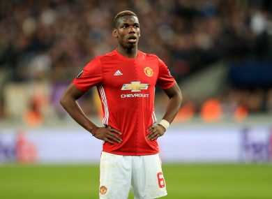 Paul Pogba and Man United have struggled at times this season.
