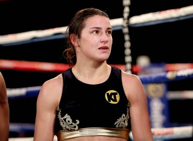 Katie Taylor (file pic).