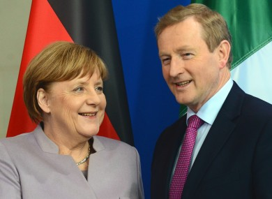 Enda Kenny paid a visit to Germany today.
