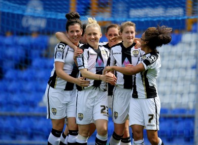 The Notts County Ladies players have been granted permission to join other clubs.