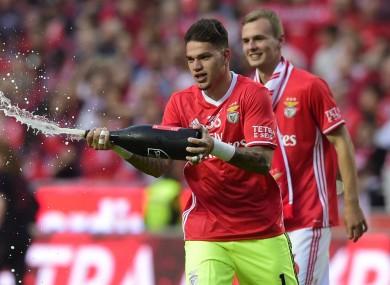 Benfica's Ederson.