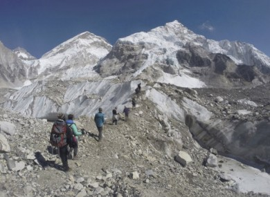 Altitude sickness is one of the biggest challenges for would-be climbers.