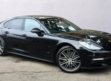 the porsche panamera is more car than you 39 ll ever need. Black Bedroom Furniture Sets. Home Design Ideas