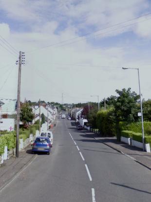 Main Street in Ballycarry