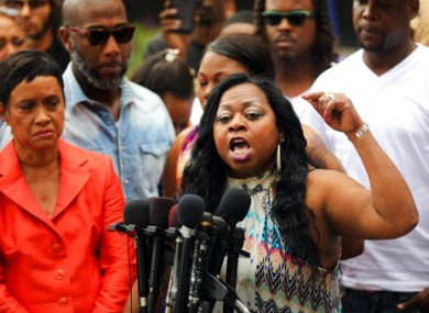 Valerie Castile, mother of Philando Castile, after  a not guilty verdict for Jeronimo Yanez at the Ramsey County Courthouse earlier this month