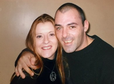 Anne-Marie O'Brien with her brother John
