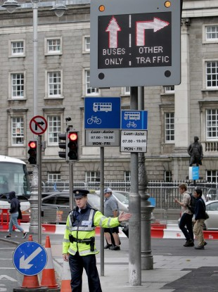The line that passes by College Green in Dublin City Centre will be tested out today.