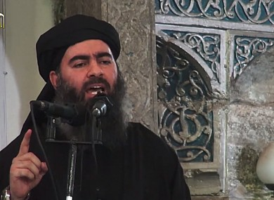 Abu Bakr al-Baghdadi (File photo)