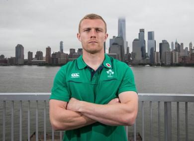 Ireland back Keith Earls.