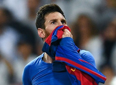 Lionel Messi celebrates his 30th birthday today.