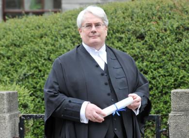 File photo of Mr Justice Frank Clarke