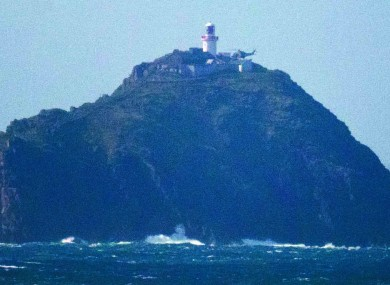 Black Rock island off the coast of Mayo