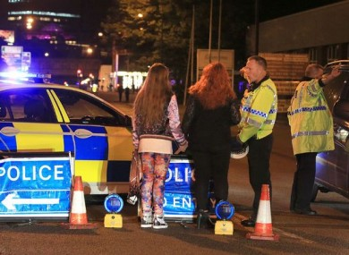 Concert-goers speak to police in the aftermath of the May attack on the Manchester Arena.