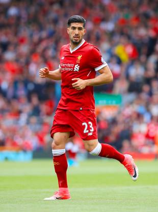 Reds midfielder Emre Can.