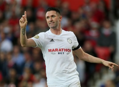 Keane is currently without a club.