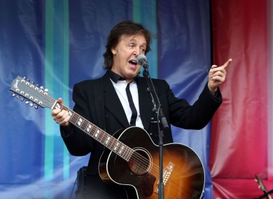 Paul McCartney has been fighting over rights to The Beatles' songs.