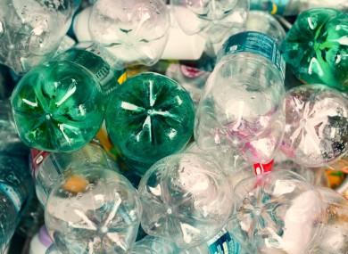 At least €1.30 worth of plastic bottles.