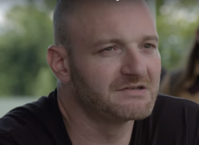 Christopher Cantwell appearing in the Vice documentary about the Charlottesville demonstration.