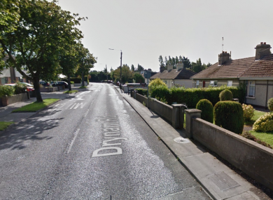 Part of the Drynam Road in Swords.