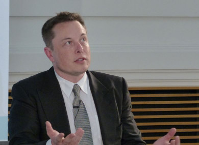 Elon Musk, CEO of Tesla and SpaceX
