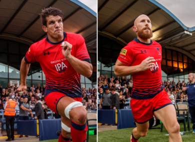 O'Callaghan and Stringer run out against their former team tonight