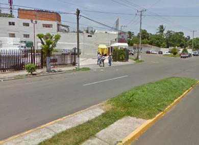 An area of Lazaro Cardenas in Mexico.