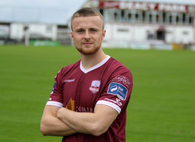 Niall Maher completed his move to Galway earlier this week.