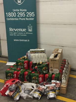 These products were seized by Revenue this weekend
